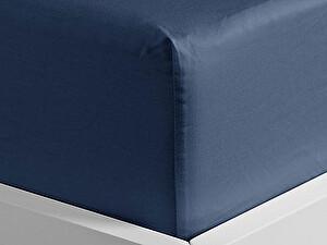 Купить простынь Curt Bauer Uni-Mako-Satin 260х270 см, джинса