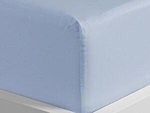 Купить простынь Curt Bauer Uni-Mako-Satin 220х270 см, голубой
