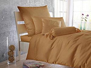 Купить простынь Curt Bauer Uni-Mako-Satin 260х270 см, коньяк