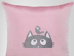 Купить декоративную подушку Primavelle Кот