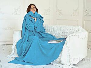 Плед с рукавами Sleepline, голубой