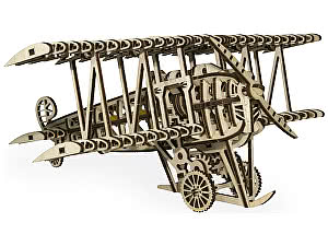 Конструктор 3D-Пазл Wood Trick Самолет