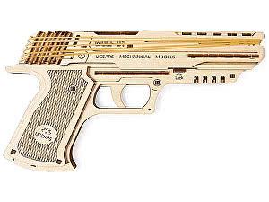 Купить конструктор Ugears Пистолет Вольф-01