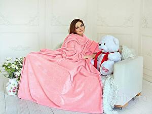 Купить плед Sleepline* розовый с рукавами