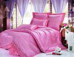 Однотонное лиловое постельное белье | SPIM.RU - Москва | 8-800-555-60-55