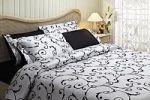 Белое постельное белье искусственный шелк | SPIM.RU - Москва | 8-800-555-60-55