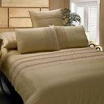 Бежевое постельное белье с кружевом   SPIM.RU - Москва   8-800-555-60-55