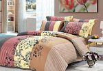 Желтое постельное белье в полоску | SPIM.RU - Москва | 8-800-555-60-55