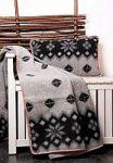 Черные пледы с орнаментом   SPIM.RU - Москва   8-800-555-60-55