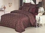 Коричневое постельное белье с кружевом | SPIM.RU - Москва | 8-800-555-60-55