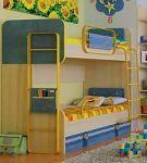Двухъярусные металлические кровати. Купите 2-ярусную детскую кровать из металла | SPIM.RU - Москва | 8-800-555-60-55