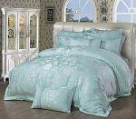 Голубое постельное белье из вискозы | SPIM.RU - Москва | 8-800-555-60-55