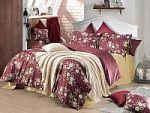 Бордовое постельное белье из бязи | SPIM.RU - Москва | 8-800-555-60-55
