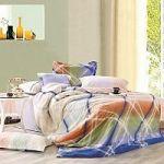 Салатовое постельное белье в полоску | SPIM.RU - Москва | 8-800-555-60-55