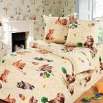 Коричневое постельное белье для девочек | SPIM.RU - Москва | 8-800-555-60-55
