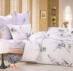 Сиреневое постельное белье с цветами | SPIM.RU - Москва | 8-800-555-60-55