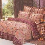 Бордовое постельное белье с наволочками 70х70 | SPIM.RU - Москва | 8-800-555-60-55