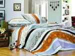 Оранжевое постельное белье из поплина   SPIM.RU - Москва   8-800-555-60-55