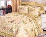 Постельное белье с цветами из поплина | SPIM.RU - Москва | 8-800-555-60-55