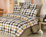 Бордовое постельное белье в клетку   SPIM.RU - Москва   8-800-555-60-55