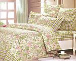 Розовое постельное белье в клетку   SPIM.RU - Москва   8-800-555-60-55
