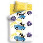 Фиолетовое недорогое постельное белье Непоседа | SPIM.RU - Москва | 8-800-555-60-55