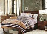 Красное постельное белье в полоску | SPIM.RU - Москва | 8-800-555-60-55