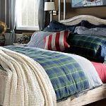 Синее постельное белье из батиста   SPIM.RU - Москва   8-800-555-60-55