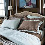 Бежевое постельное белье из льна | SPIM.RU - Москва | 8-800-555-60-55