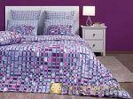 Фиолетовое постельное белье из бязи. Хлопковые бязевые комплекты фиолетового цвета | SPIM.RU - Москва
