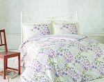 Зеленое постельное белье из ранфорса | SPIM.RU - Москва | 8-800-555-60-55