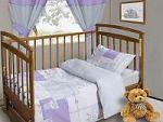 Сиреневое постельное белье для новорожденных   SPIM.RU - Москва   8-800-555-60-55