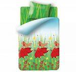 Оранжевое постельное белье Непоседа для девочек | SPIM.RU - Москва | 8-800-555-60-55