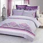 Сиреневое постельное белье с орнаментом | SPIM.RU - Москва | 8-800-555-60-55