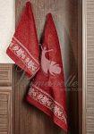 Комплекты полотенец лилового цвета. Наборы лиловых полотенец в подарочной упаковке | SPIM.RU - Москва