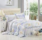 Голубое постельное белье из шелка | SPIM.RU - Москва | 8-800-555-60-55