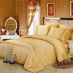 Желтое постельное белье из шелка | SPIM.RU - Москва | 8-800-555-60-55
