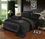 Черное постельное белье из шелка. Купите шелковый комплект постельного белья черного цвета! | SPIM.RU - Москва