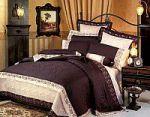 Фиолетовое постельное белье с наволочками 50х70 | SPIM.RU - Москва | 8-800-555-60-55