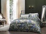 Синее постельное белье искусственный шелк   SPIM.RU - Москва   8-800-555-60-55