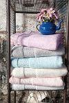 Зеленые полотенца из модала | SPIM.RU - Москва | 8-800-555-60-55