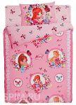 Розовое постельное белье Праймтекс с наволочками 70х70 | SPIM.RU - Москва | 8-800-555-60-55