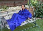 Синие пледы с рукавами . Купите плед с рукавами синего цвета в интернет-магазине! | SPIM.RU - Москва | 8-800-555-60-55