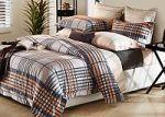 Коричневое постельное белье из фланели | SPIM.RU - Москва | 8-800-555-60-55