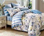 Синее постельное белье из фланели | SPIM.RU - Москва | 8-800-555-60-55