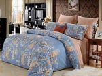 Синее постельное белье из бамбука | SPIM.RU - Москва | 8-800-555-60-55