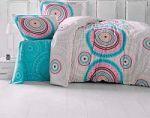 Бирюзовое постельное белье из ранфорса | SPIM.RU - Москва | 8-800-555-60-55
