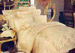 Кремовое постельное белье . Купите комплект постельного белья кремового цвета в интернет-магазине — SPIM.RU — Москва