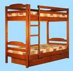 Двухъярусные деревянные кровати Альянс XXI век | SPIM.RU - Москва | 8-800-555-60-55