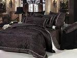 Черное постельное белье из вискозы | SPIM.RU - Москва | 8-800-555-60-55